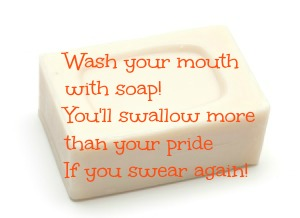 Cake of soap